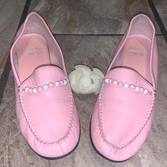 Pink Mootsies Tootsies Leather Loafers